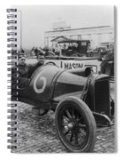 Racecar Drivers, C1913 Spiral Notebook