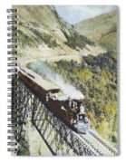 Railroad Bridge, C1870 Spiral Notebook