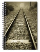 Railway Tracks Spiral Notebook