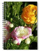 Ranunculus 1 Spiral Notebook