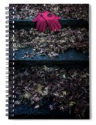 Red Gloves Spiral Notebook