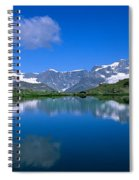 Reflection Of Mountains In Water Spiral Notebook