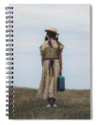 Refugee Girl Spiral Notebook