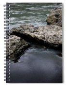 Rocks In The River Spiral Notebook