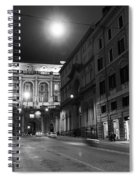 Roma By Night Spiral Notebook