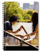 Romance In The Afternoon Spiral Notebook