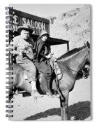 Roscoe Fatty Arbuckle Spiral Notebook