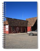 Route 66 - Bagdad Cafe Spiral Notebook