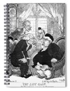Rowlandson: Quack Doctor Spiral Notebook