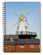 Rye Windmill Spiral Notebook