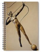 Saint Gaudens' Diana Of The Tower Spiral Notebook