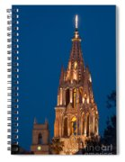 San Migel De Allende, Mexico Spiral Notebook