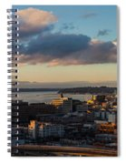Seattle Dusk Spiral Notebook