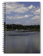 Sweet Balmy Breeze On Shem Creek Spiral Notebook
