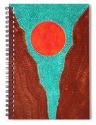Slot Canyon Original Painting Spiral Notebook