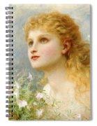 Heavenwards Spiral Notebook