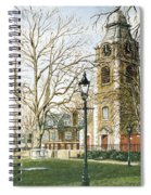 St Johns Church Wapping London Spiral Notebook