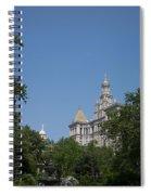 Street Scenes Spiral Notebook