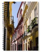 Streets Of Seville - Magic Colours Spiral Notebook