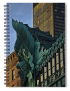 3 Styles Of Architecture Telephoto Spiral Notebook