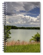 3-summer Time At Moraine View State Park Spiral Notebook