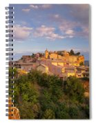 Sunrise Over Roussillon Spiral Notebook