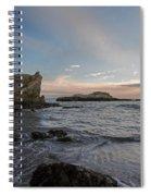 Sunset At Pismo Beach Spiral Notebook
