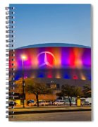 Superdome Spiral Notebook