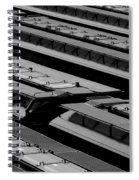 Switch Yard For Box Cars Spiral Notebook