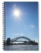 Sydney Harbour Bridge In Australia  Spiral Notebook