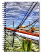 Pointing South Spiral Notebook