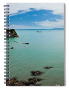 Tasman Sea At West Coast Of South Island Of Nz Spiral Notebook
