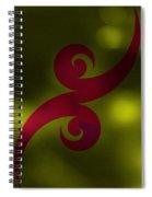 Tattoo Abstract Spiral Notebook
