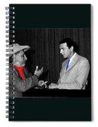 Ted Degrazia Dick Mayers Kvoa Tv Studio Polaroid By News Director Garry Greenberg January 1966 Spiral Notebook