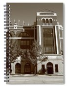 Texas Rangers Ballpark In Arlington Spiral Notebook