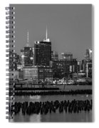 The Empire State Building Pastels Spiral Notebook