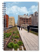The High Line Urban Park New York Citiy Spiral Notebook