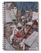 'the Night Before Christmas Spiral Notebook