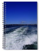 The Wake Of The Island Queen Spiral Notebook