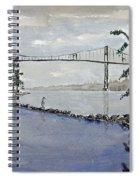 Thousand Islands Bridge Spiral Notebook