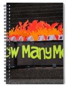 Tibetan Protest March Spiral Notebook