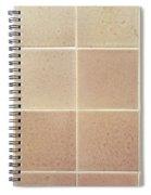 Tiles Background Spiral Notebook