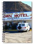 Tonopah Nevada - Clown Motel Spiral Notebook