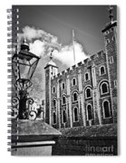 Tower Of London Spiral Notebook
