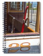 Trolley 28 Spiral Notebook