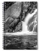 True's Brook Gorge Water Fall Spiral Notebook