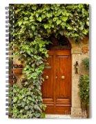 Tuscan Door Spiral Notebook