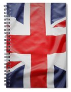 Uk Flag Spiral Notebook