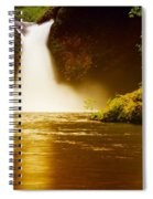 Upper Punch Bowl Falls Spiral Notebook