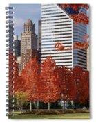 Usa, Illinois, Chicago, Millennium Spiral Notebook